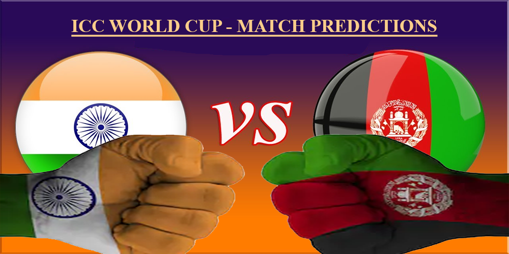 India vs Afghanistan World Cup Match