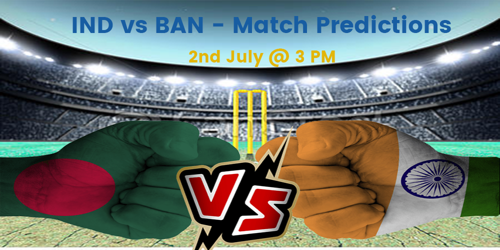 INDIA vs BANGLADESH WORLD CUP 2019