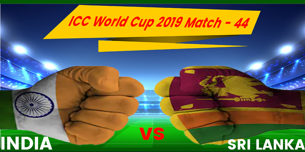 INDIA vs SRI LANKA World Cup 2019