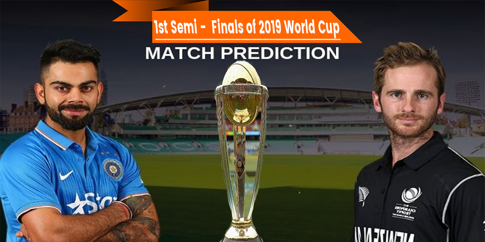 1st Semi Finals 2019 world cup IND vs NZ